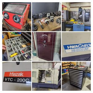 Online Machine Shop Auction